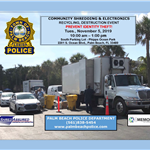 Trucks pic with shredding info for social media