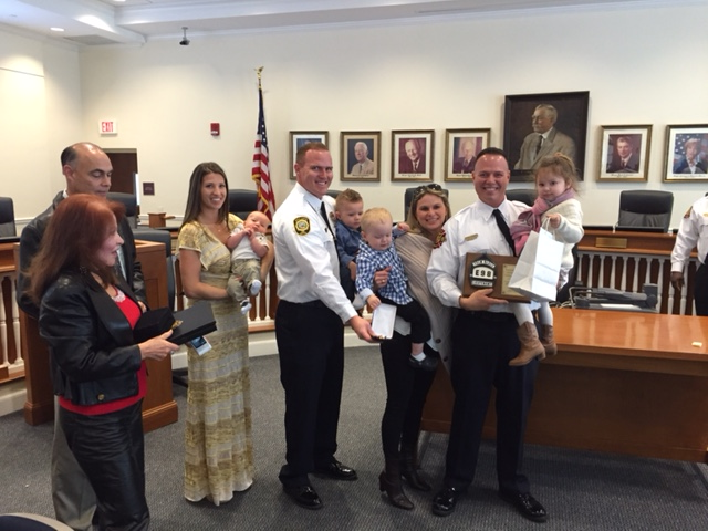 2015 Firefighter of the Year