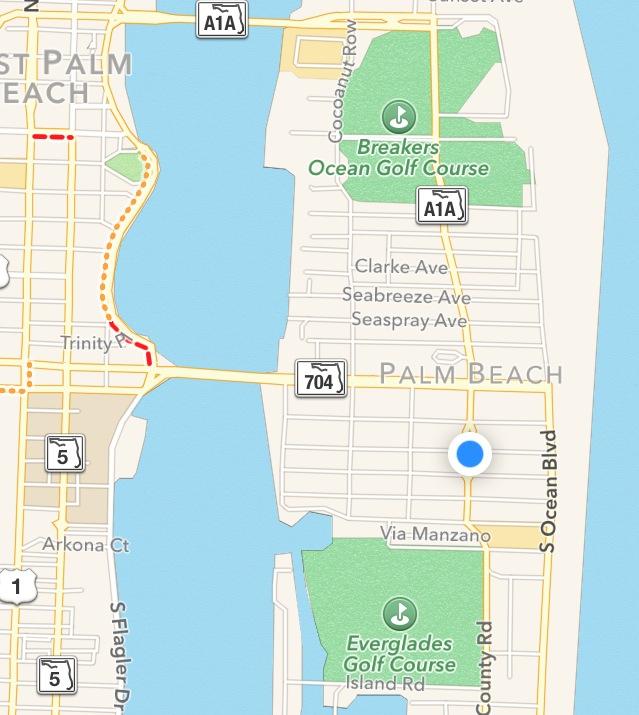 Palm Beach FL Official Website Interactive Maps - Palm beach florida map